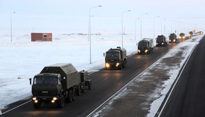 Алтайскую трассу перекроют 23 января из-за военных учений