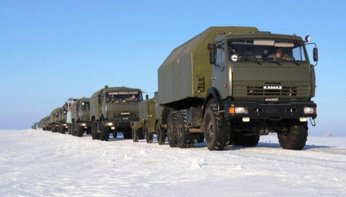 Дорогу перекроют 31 января из-за военных учений в Алтайском крае