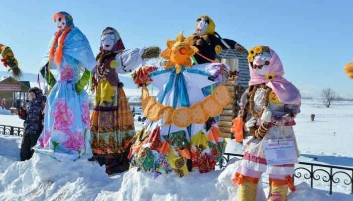 Лучшее чучело выберут на празднике Сибирская Масленица