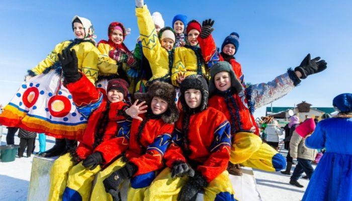 Какие развлечения для детей будут на Сибирской Масленице – 2019