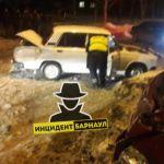 Массовое ДТП произошло в Барнауле из-за пьяного водителя