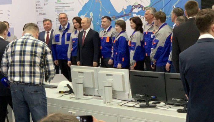 Путин в Крыму дал старт Балаклавской и Таврической ТЭС