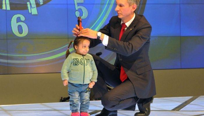 Рост самой маленькой девочки России занесен в Книгу рекордов
