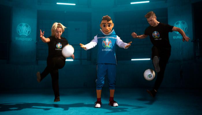 Мальчик Скилзи стал талисманом чемпионата Европы 2020 года