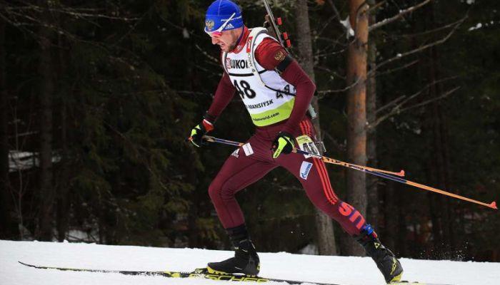 Логинов победил в гонке преследования на чемпионате России по биатлону