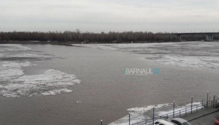 Когда начнется ледоход на Оби в Барнауле?