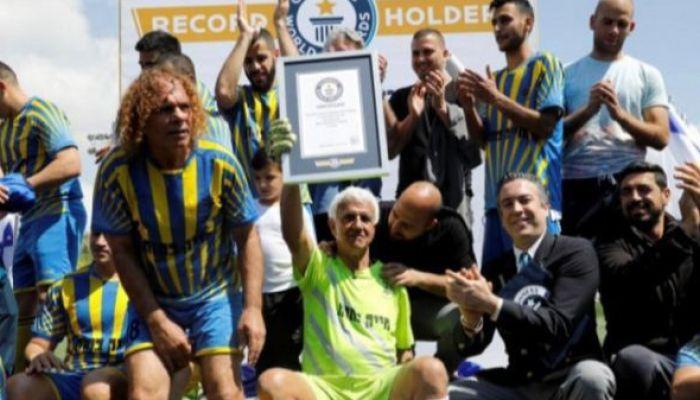 73-летний израильский вратарь вошёл в Книгу рекордов Гиннесса