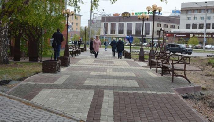 Как изменился сквер возле Главпочтамта в Барнауле