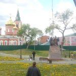Памятник Кириллу и Мефодию установили в Барнауле