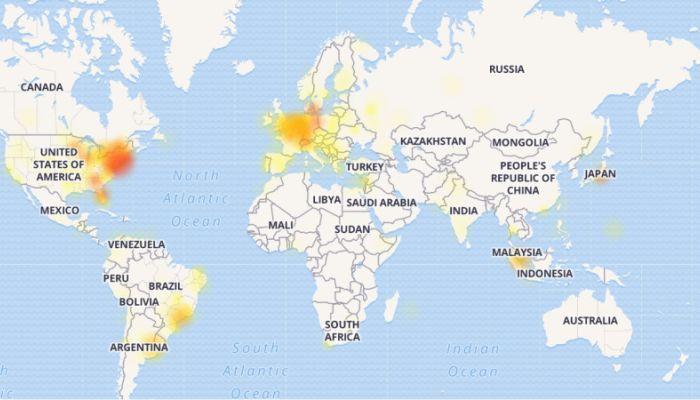 Глобальный сбой произошел в работе WhatsApp и Instagram