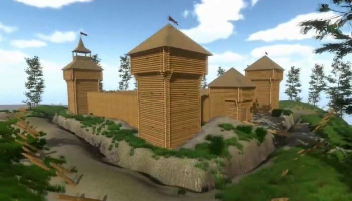 Белоярскую крепость возводят под Новоалтайском