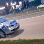 Гибель девушки-пешехода в ДТП в Барнауле попала на видео