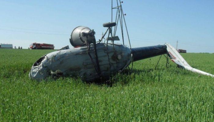 Вертолет Ми-8 совершил жесткую посадку в Якутии
