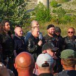 Крутые ребята: Путин на Урале приехал на байк-шоу Ночных волков в Крыму