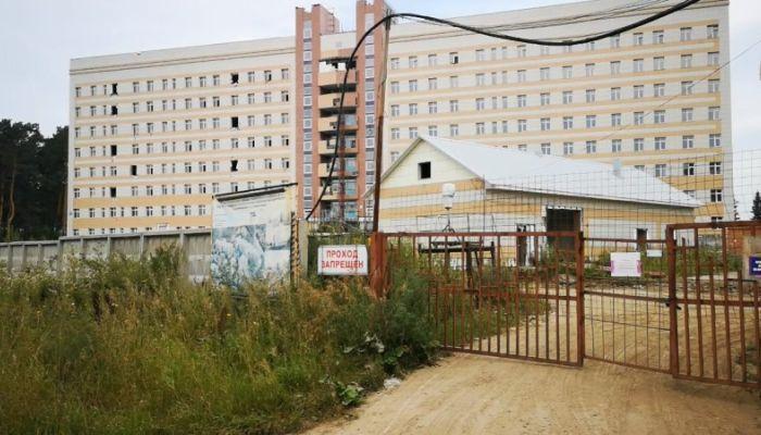 Сколько стоит мусор: как проходит строительство тубдиспансера в Новоалтайске
