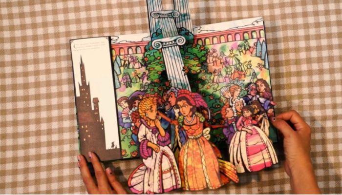 Беричитай: любимая сказка Красавица и Чудовище в волшебном 3D исполнении