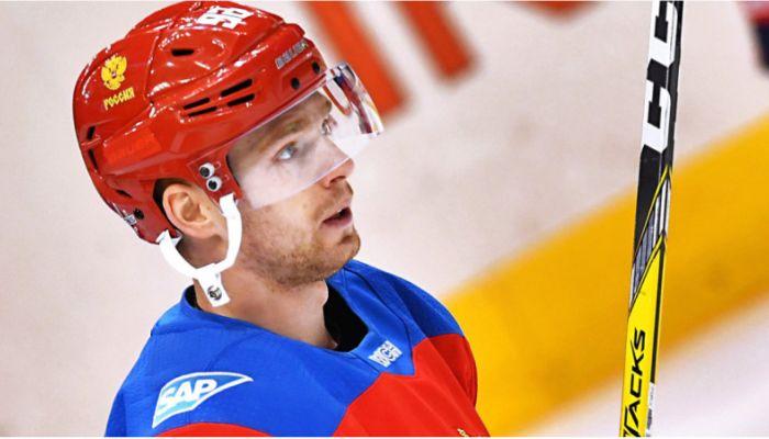 Форвард сборной России по хоккею дисквалифицирован за кокаин