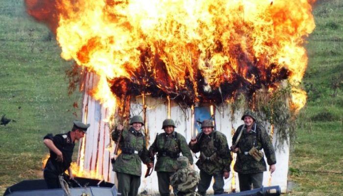 Сражение на Днепре 1943 года повторили в Алтайском крае: как это было