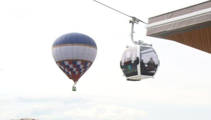 Современный подъемник открылся на алтайском курорте Манжерок