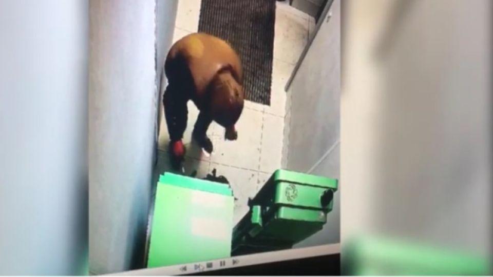 Гибель грабителя при попытке подрыва банкомата в Череповце попала на видео