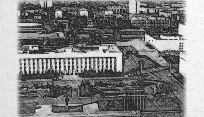 Барнаульский хронограф: первая женская гимназия и памятник Ленину