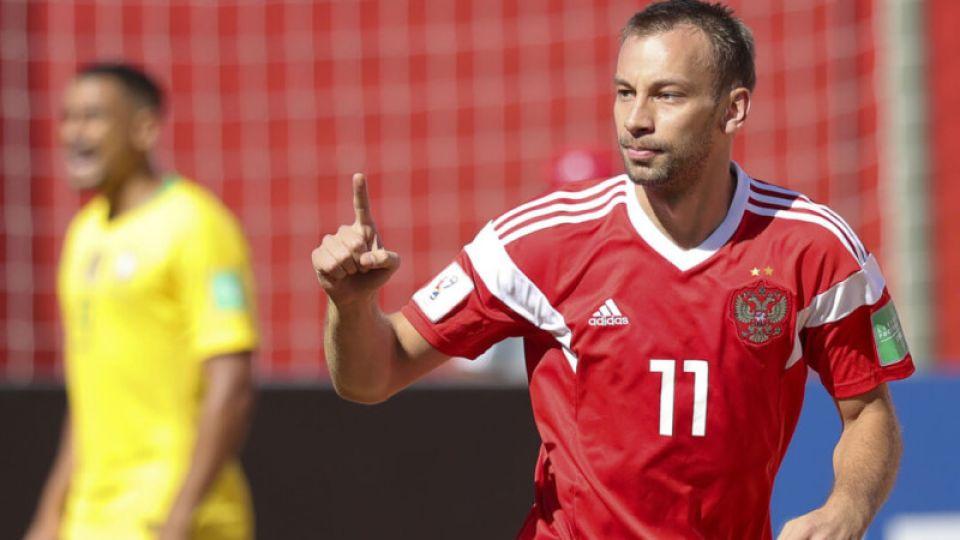 Сборная России стала третьей на чемпионате мира по пляжному футболу
