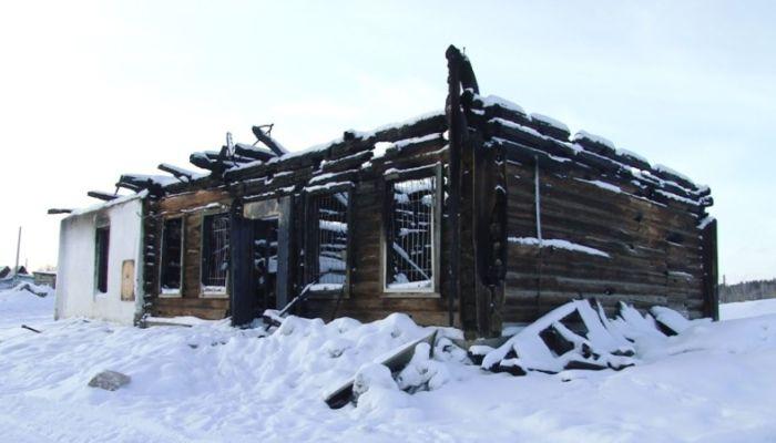 Место сходки: в алтайском селе сгорел единственный магазин