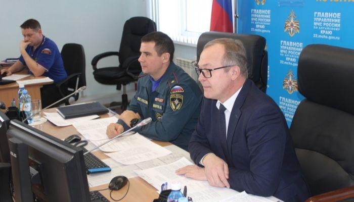 В Алтайском крае введен повышенный режим готовности из-за непогоды