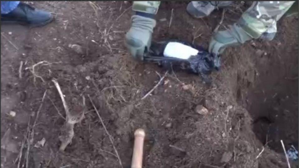 У жителя Крыма обнаружили несколько схронов со взрывчаткой