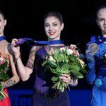 Российские фигуристки заняли весь пьедестал на чемпионате Европы