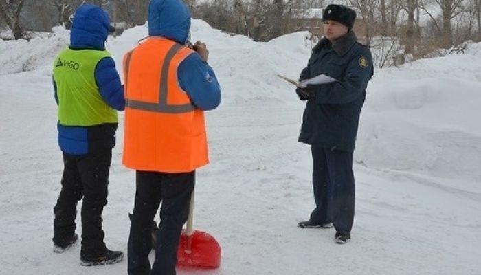 Осужденных отправили на расчистку рубцовских улиц от снега