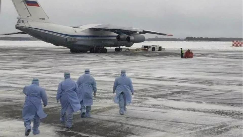 Эвакуированных из Китая россиян доставили на родину