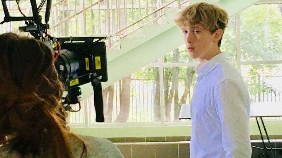 Сын Валерия Золотухина снялся в видео о буллинге в школах