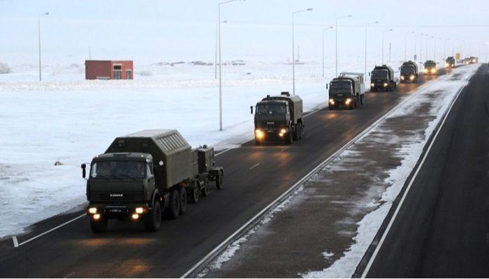 На алтайских трассах  17 и 18 февраля перекроют движение из-за военных колонн