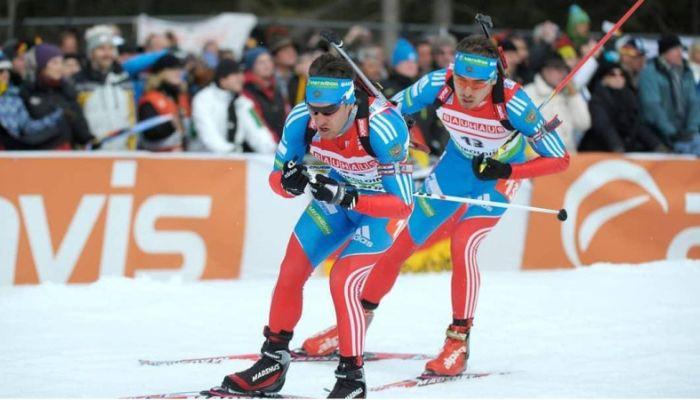 К российским биатлонистам перед гонкой в Италии пришли с обысками