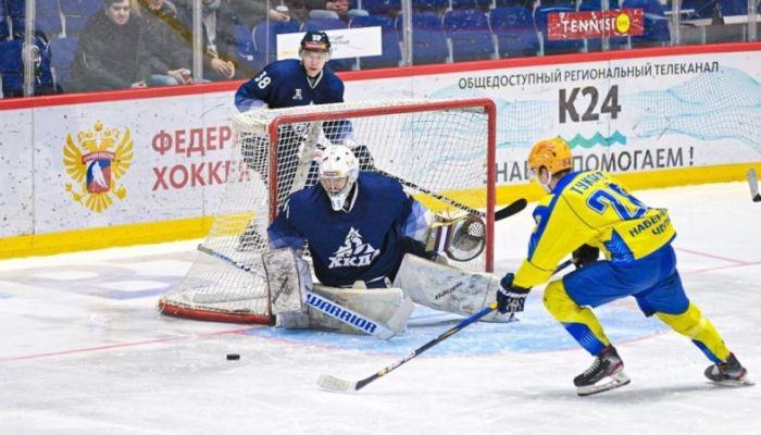 Хоккеисты Динамо-Алтай взяли бронзу регулярного первенства