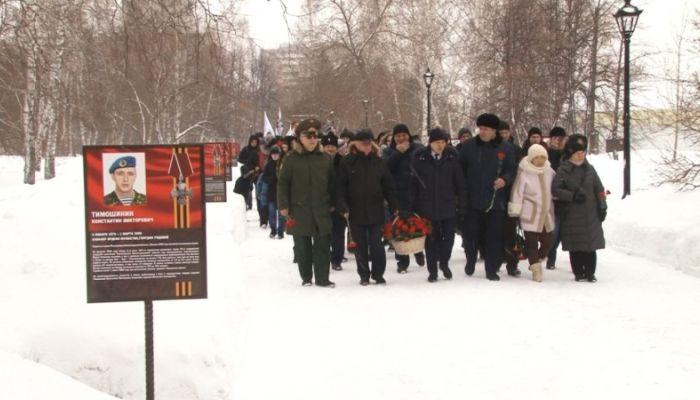 20 лет спустя: в Барнауле почтили память десантников 6-й роты