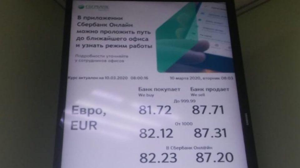 """Сколько стоят доллар и евро в банках Барнаула после """"черного понедельника"""""""