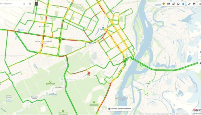 Движение по Змеиногорскому тракту затруднено в Барнауле