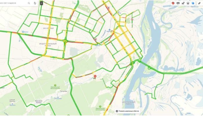 Два ДТП парализовали движение на улицах Барнаула