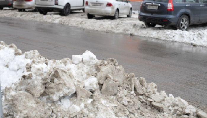 На каких улицах Барнаула ворошат и вывозят снег