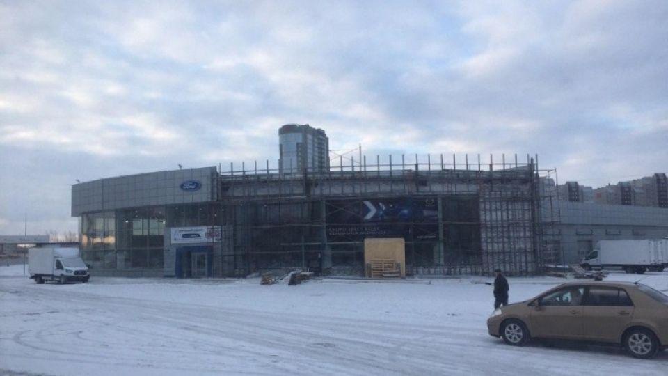 Автоцентр на Павловском тракте в Барнауле перестраивают под Mazda