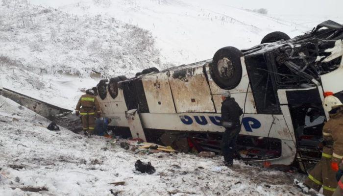 Смертельная авария под Тамбовом: число пострадавших достигло 18 человек