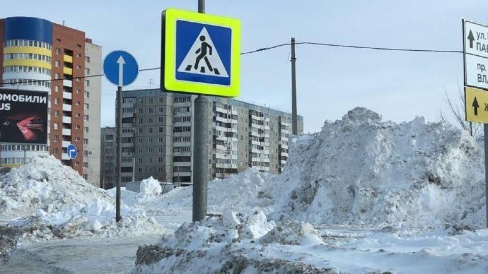 В Барнауле разыскивают сбившего пенсионерку водителя на красной иномарке