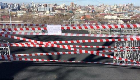Нагорный парк и набережную Оби закрыли в Барнауле