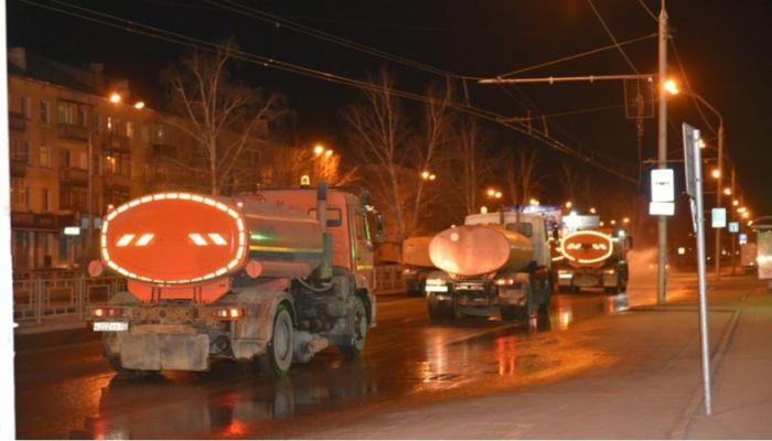 Поток и ВРЗ: еще 31 улицу обработают в ночь на 18 апреля в Барнауле