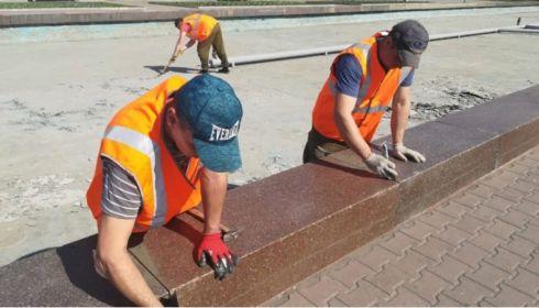 Заработают, но не сейчас: фонтаны в Барнауле готовят к новому сезону