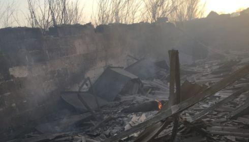 Свинки заживо сгорели: пожар обрушился на садоводство в Рубцовске