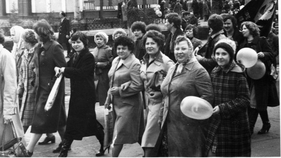 Как на Алтае во времена СССР праздновали 1 мая. Ретроснимки ХХ века