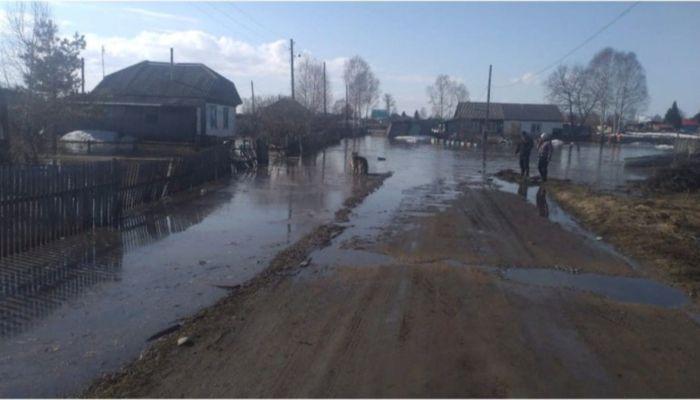 Венеция отдыхает. Паводок разделил пополам деревню в Алтайском крае